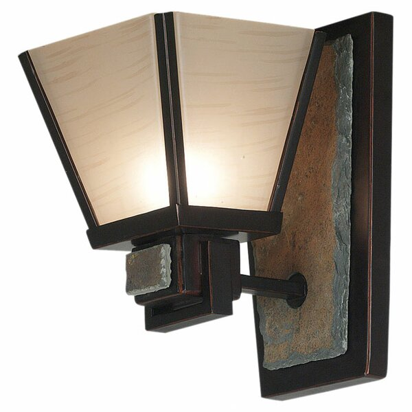 Clean Slate 1-Light Armed Sconce by Wildon Home ®