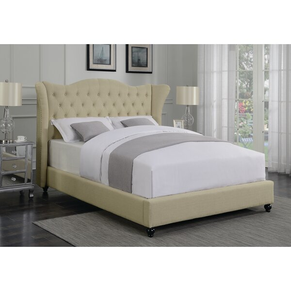 Phillip Upholstered Standard Bed by Darby Home Co