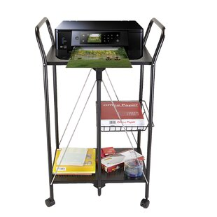 2 Tier Metal Foldable Bar Cart