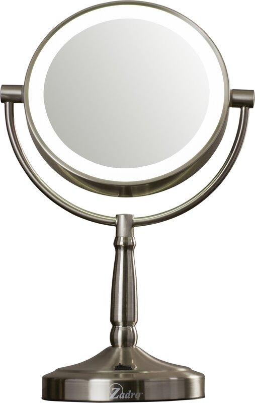 Brightest Lighted Makeup Mirror Iron Blog