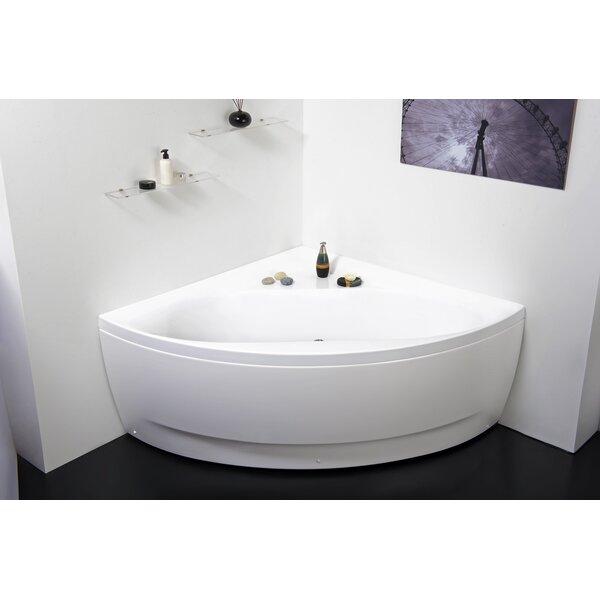 Olivia 55 x 55 Soaking Bathtub by Aquatica