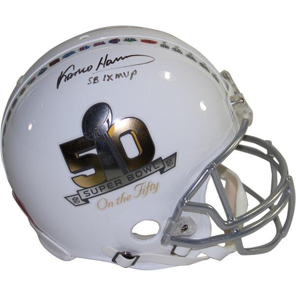 Pittsburgh Steelers Franco Harris Signed Riddell Super Bowl Helmet by Steiner Sports