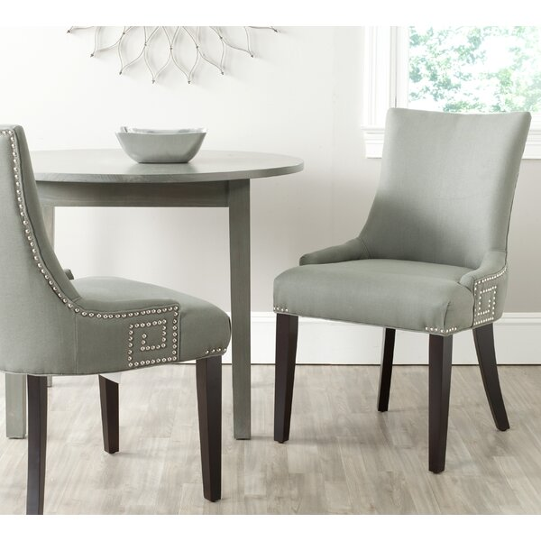 Find Mcdaniel Upholstered Wood Side Chair (Set Of 2) By Willa Arlo Interiors Best Design