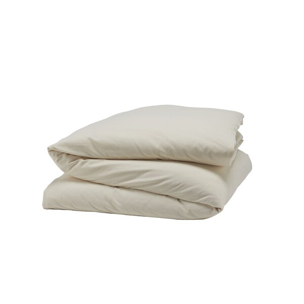 Cloud Brushed Organic Flannel Single Duvet Cover