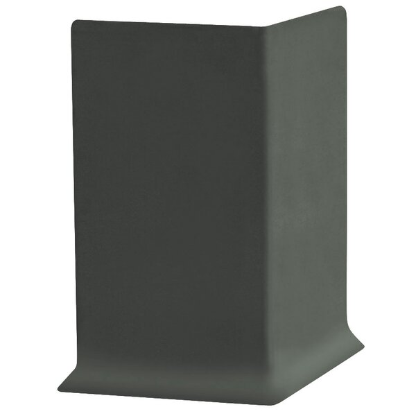 0.41 x 4 x 2.25 Cove Molding in Black Brown (Set of 25) by ROPPE