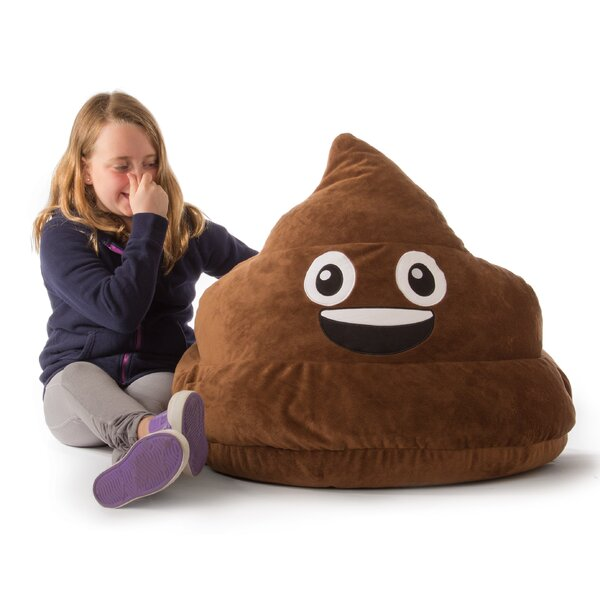 GoMoji Emoji Poo Bean Bag Chair by Ace Casual Furniture™