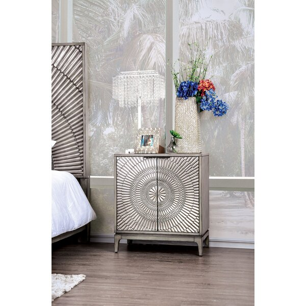 Mishler Nightstand by Bungalow Rose