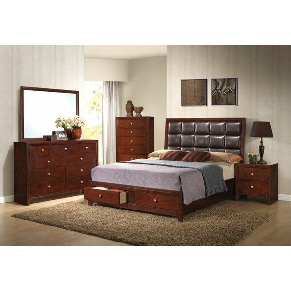 Ilana Queen Upholstered Storage Standard Bed by Simple Relax
