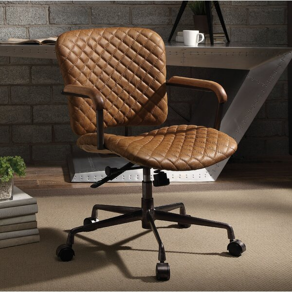 Kane Genuine Leather Executive Chair by Foundry Select