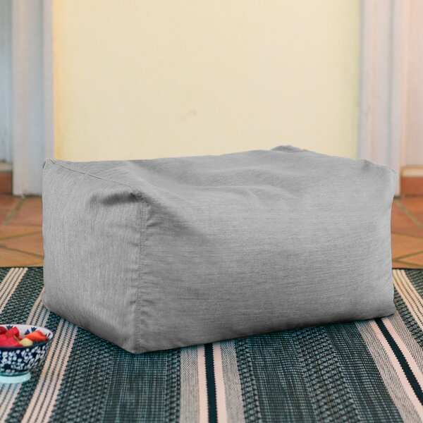 Lucy Outdoor Ottoman by Highland Dunes