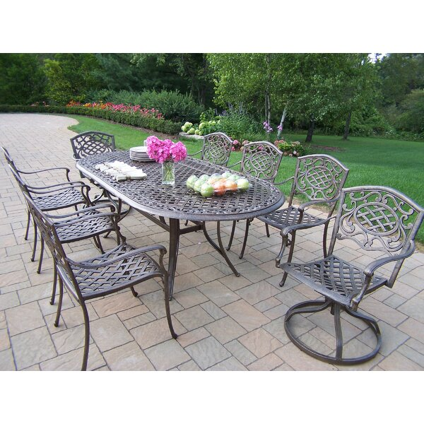 Mississippi 9 Piece Dining Set by Oakland Living