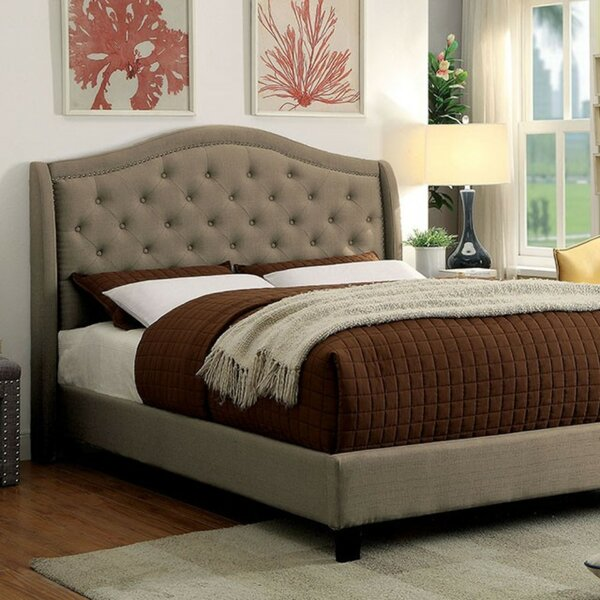 Maselli Contemporary Upholstered Bed by Charlton Home