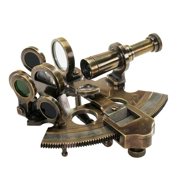 Pocket Sextant Decorative Telescope by Authentic Models