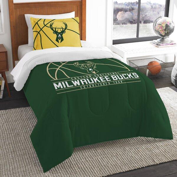 NBA Reverse Slam 2 Piece Twin Comforter Set by Nor