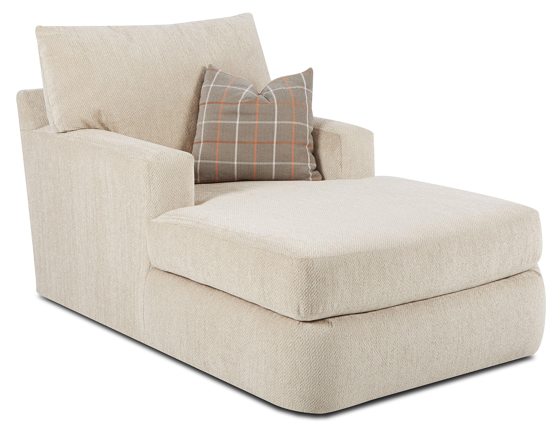 Klaussner Furniture Simms Chaise Lounge Amp Reviews Wayfair