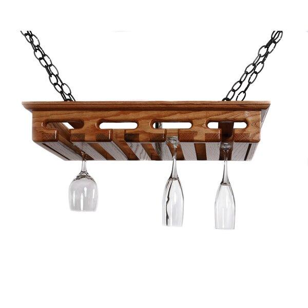 Hanging Wine Glass Rack by Laurel Highlands Woodshop