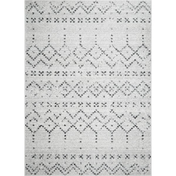 Spain Distressed Ivory Area Rug by Union Rustic