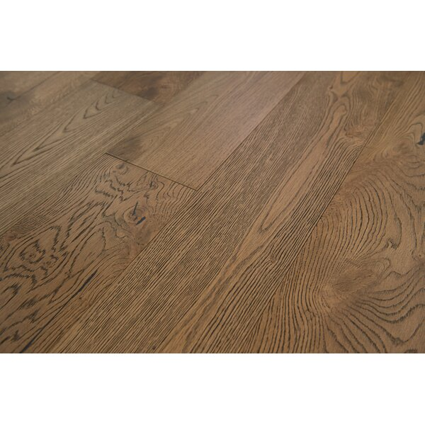 Santorini 7-1/2 Engineered Oak Hardwood Flooring in Pecan by Branton Flooring Collection