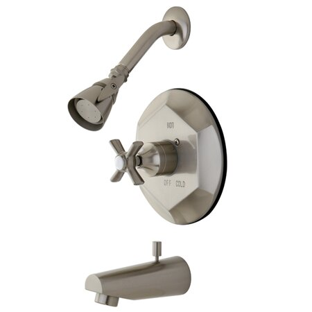 Millennium Tub and Shower Faucet by Kingston Brass