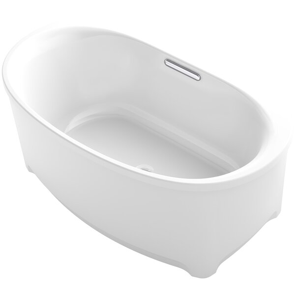 Underscore Oval Freestanding VibrAcoustic Bath with Bask™ Heated Surface by Kohler