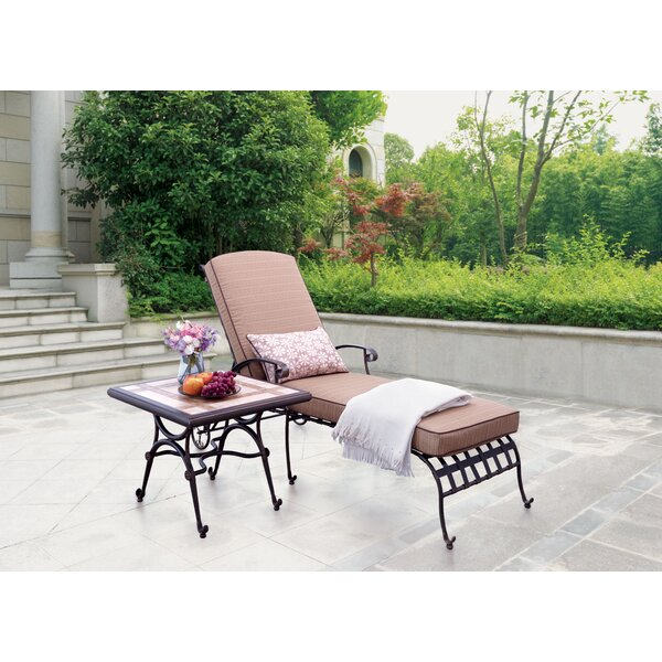 Antoine Chaise Lounge with Cushions (Set of 2) by Winston Porter Winston Porter
