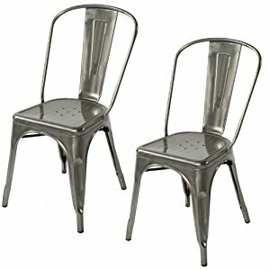 Cronan Industrial Chic Xavier Pauchard Tolix Style Dining Chair (Set of 2) by Williston Forge