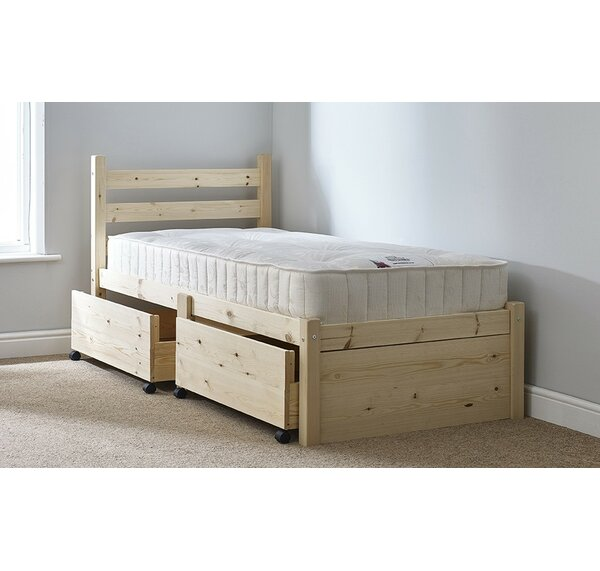 Hazelwood Home Finchley Single Storage Panel Bed & Reviews | Wayfair ...