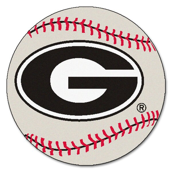 NCAA University of Georgia Baseball Mat by FANMATS