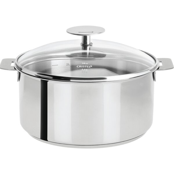 Best Reviews 2 Qt Covered Straining Saucepan With Pour