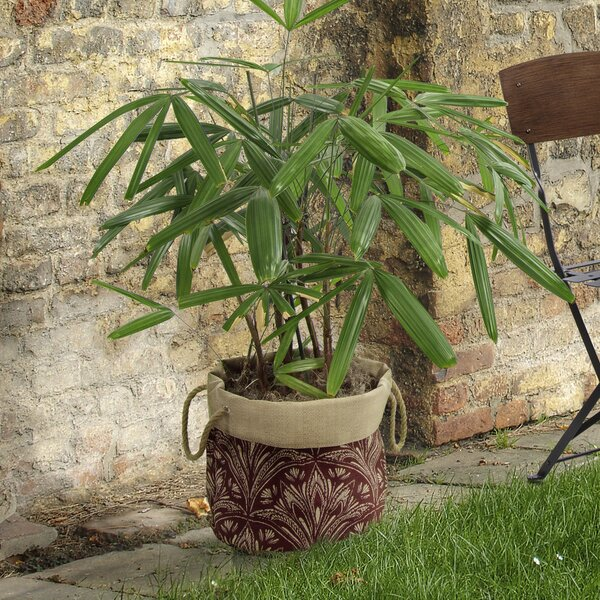Zanzibar Fabric Pot Planter by Bombay Outdoors