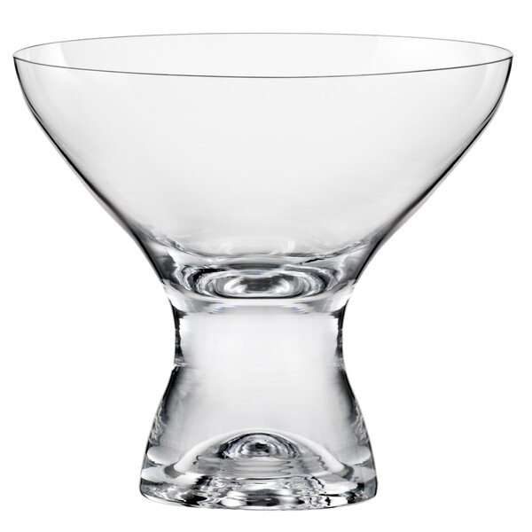 Cain 11 Oz. Martini Glass (Set of 6) by Red Vanill
