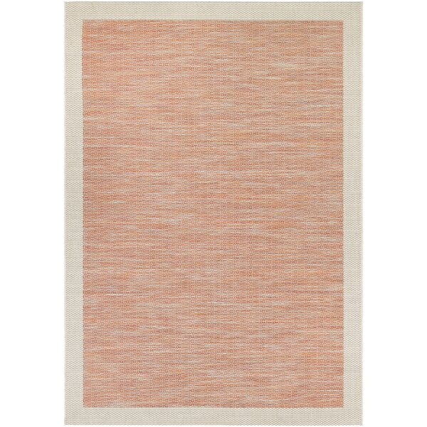 Loranger Orange Indoor/Outdoor Area Rug by Brayden Studio
