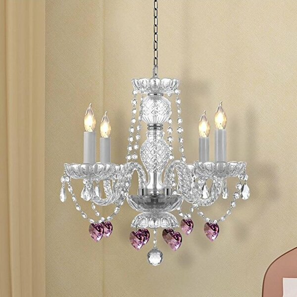 Kaelin 4-Light Candle Style Chandelier (Set of 2) by House of Hampton