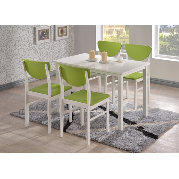 Alesha 5 Piece Dining Set by Zipcode Design