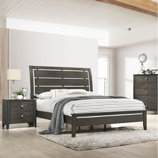 Grant Sleigh Bed by Gracie Oaks