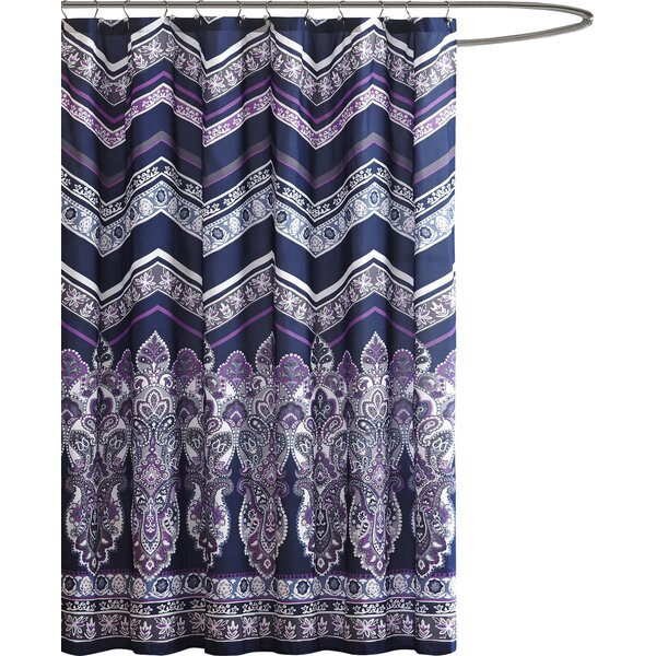 Dede Shower Curtain by Bungalow Rose