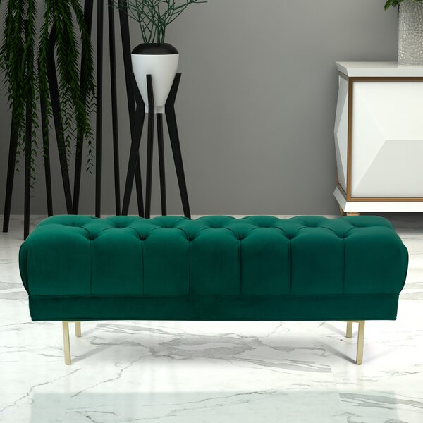 Hovey Upholstered Bench By Mercer41