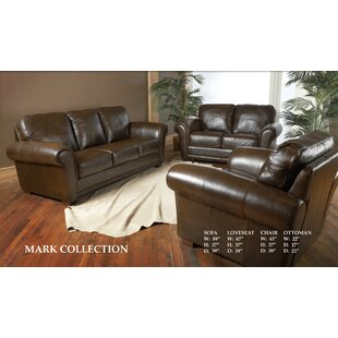 Buda Leather Configurable Living Room Set By Williston Forge