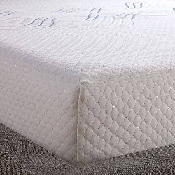 8 Sealy Wave Medium Memory Foam Mattress by Sealy