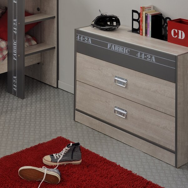 Joyce 3 Drawer Dresser by Harriet Bee