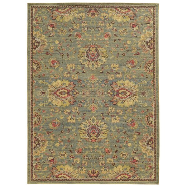 Cabana Hand-Woven Blue/Beige  Indoor/Outdoor Area Rug by Tommy Bahama Home
