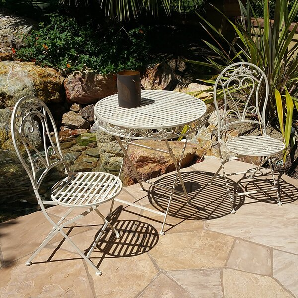 Karina 3 Piece Bistro Set by Ophelia & Co.