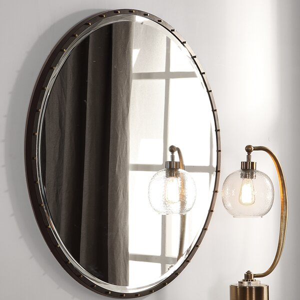 Rayshawn Round Accent Mirror by Williston Forge