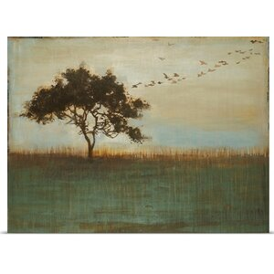 'A Fleeting Glimpse' by Liz Jardine Painting Print on Canvas by Great Big Canvas