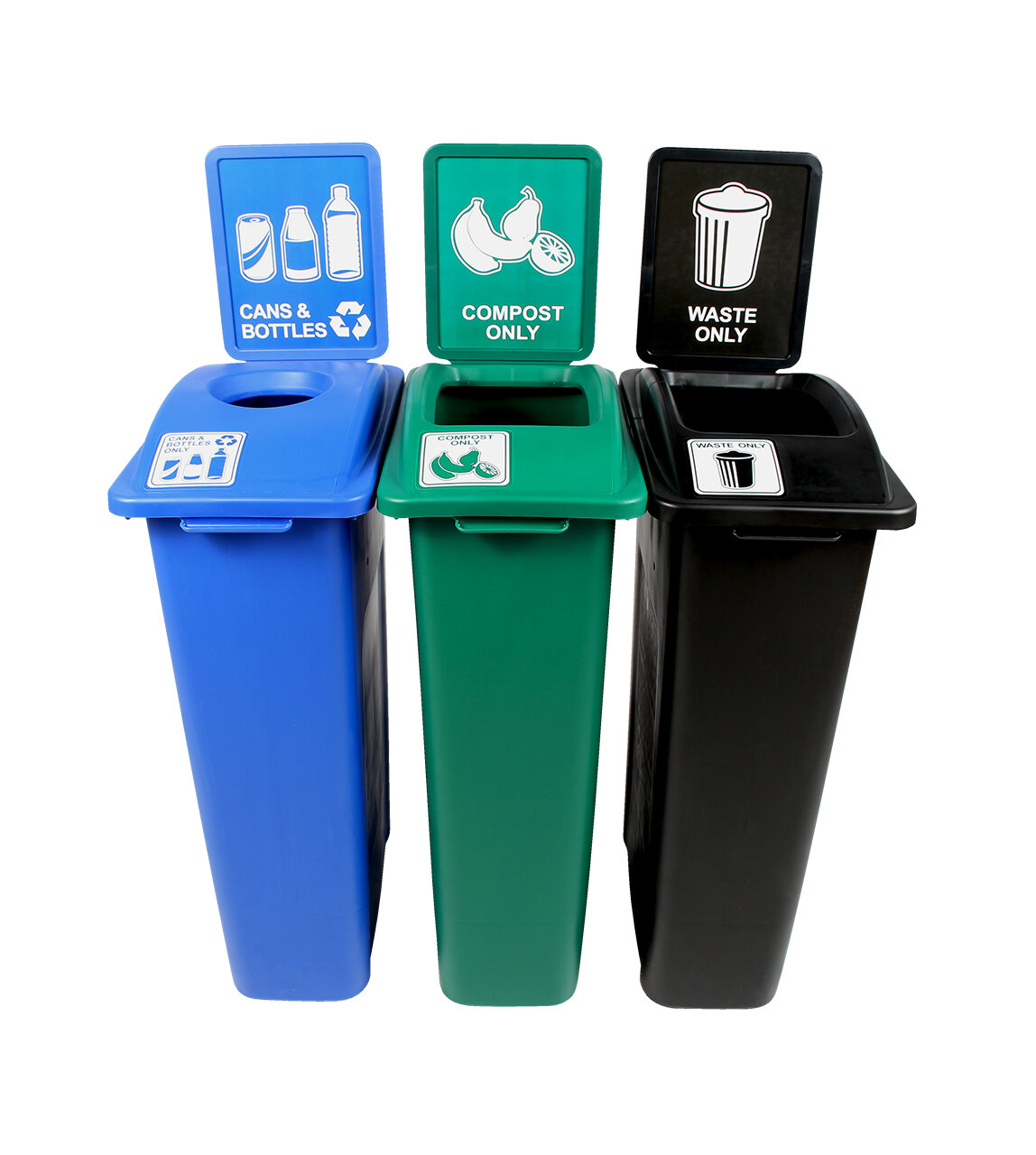 Busch Systems Waste Watcher® Cans and Bottles Slot Compost Circle 69 ...