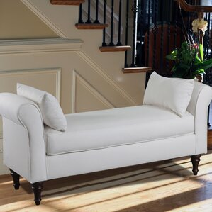 Adelina Roll Arm Bench by Darby Home Co