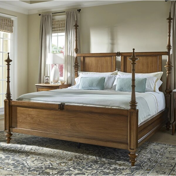 Quintessence Baldwin King Four Poster Bed By Fine Furniture Design by Fine Furniture Design Cool