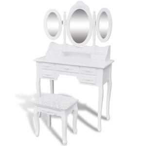 Schminktisch-Set mit Spiegel von dCor design