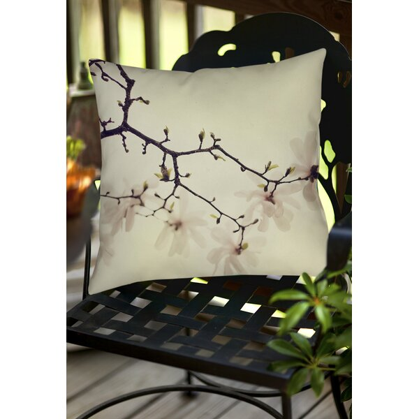 The Soft Explosion Indoor/Outdoor Throw Pillow by Manual Woodworkers & Weavers
