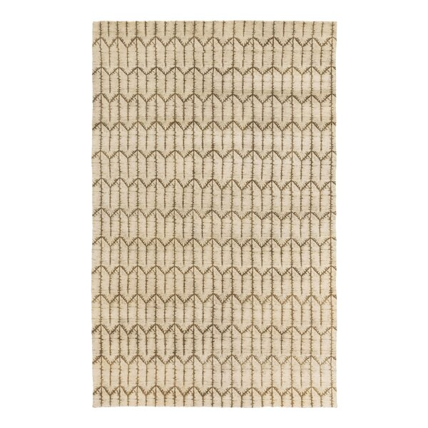 Tile Hand Knotted Brindle Area Rug by DwellStudio